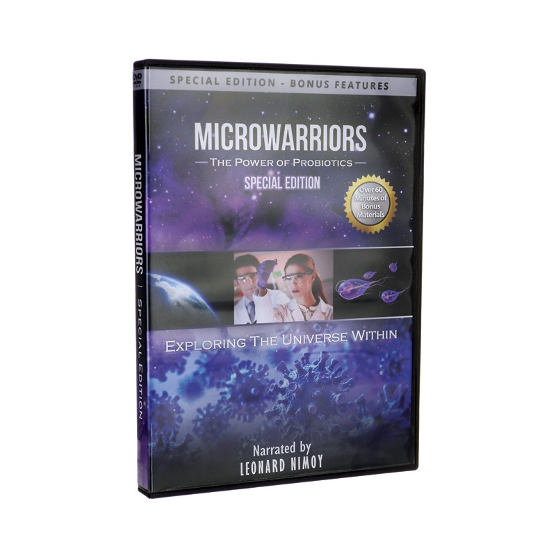 Microwarriors  The Power of Probiotics  Special Edition, 1 Unit