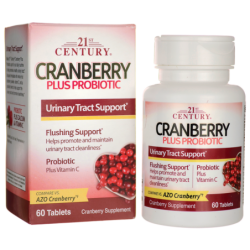 Cranberry Plus Probiotic, 60 Tabs