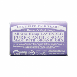 Pure Castile Bar Soap Lavender, 5 oz Bar(s)