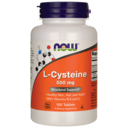 LCysteine, 500 mg 100 Tabs