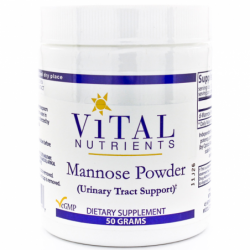 Mannose Powder Urinary Tract Support, 50 grams Pwdr