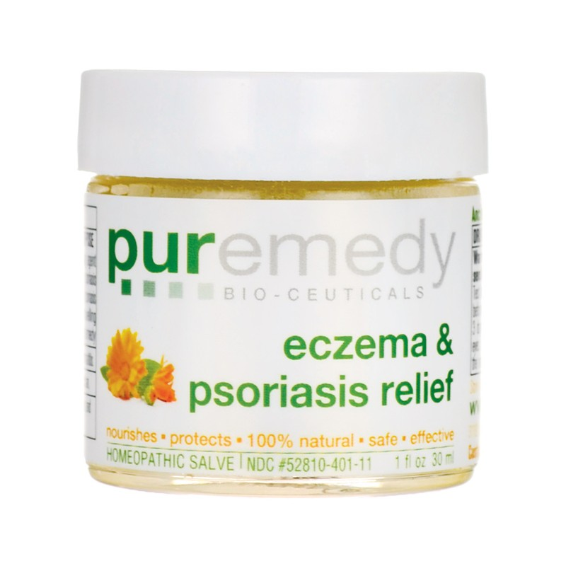 Eczema & Psoriasis Relief, 1 fl oz (30 mL) Salve
