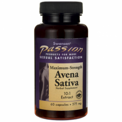 Max Strength Avena Sativa Male Stamina, 575 mg 60 Caps