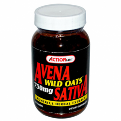Avena Sativa Wild Oats, 750 mg 50 Tabs