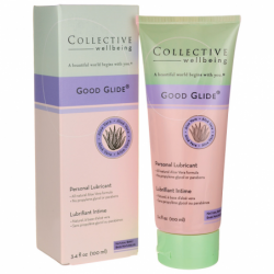 Collective Wellbeing Good Glide Personal Lubricant  Be, 3.4 fl oz Liquid