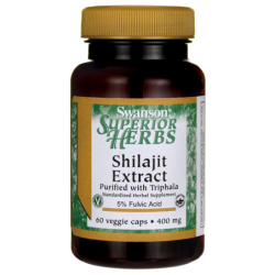 Shilajit Extract, 400 mg 60 Veg Caps