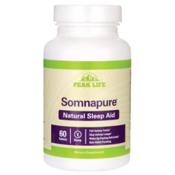 Somnapure Natural Sleep Aid, 60 Tabs