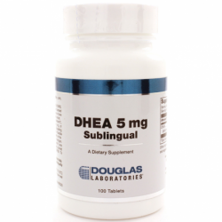 DHEA  Micronized, 5 mg 100 Tabs
