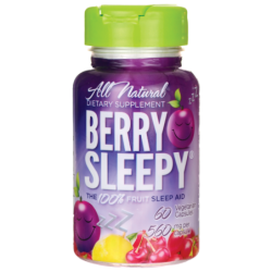 Berry Sleepy Sleep Aid, 60 Veg Caps