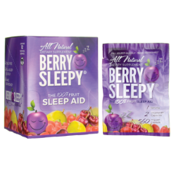 Berry Sleepy Sleep Aid Individual Servings, 12 Ct