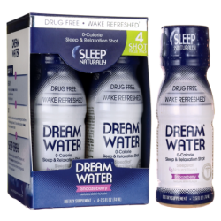 Dream Water Shot Pack  Snoozeberry, 4 Bottle(s)