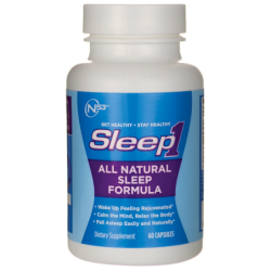 Sleep1 All Natural Sleep Formula, 60 Caps