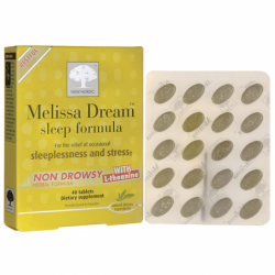 Melissa Dream Sleep Formula, 40 Tabs