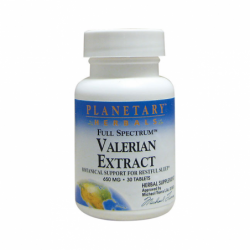 Valerian Extract Full Spectrum, 650 mg 30 Tabs