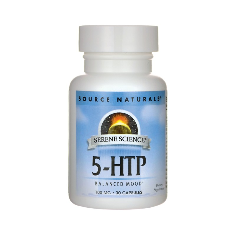 Serene Science 5HTP, 100 mg 30 Caps