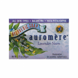Ayurvedic Bar Soap LavenderNeem, 2.75 oz (78 grams) Bar(s)