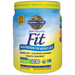 Raw Organic Fit High Protein for Weight Loss  Original, 15.1 oz (427 grams) Pwdr