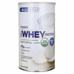 Organic 100 Whey Protein  Natural, 10.5 oz (300 grams) Pwdr