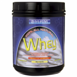 100 All Natural Whey Rich Vanilla, 1.01 lbs Pwdr