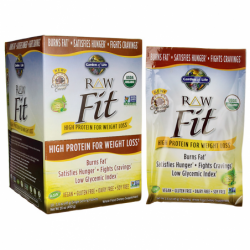 RAW Fit Protein  Chocolate Cacao, 10 / 1.6 oz (45 grams) Pkts