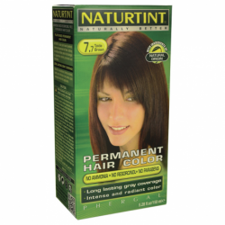 Permanent Hair Color  77 Teide Brown, 1 Box