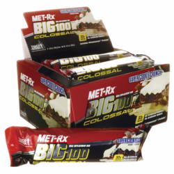 Big 100 Colossal Meal Replacement Bar Super Cookie Crunch, 9/3.52 oz (100 grams) Bar(s)