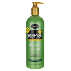 Borage Therapy Dry Skin Lotion  Original Unscented, 16 fl oz (480 mL) Lotion