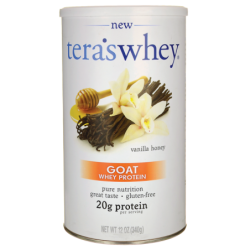 Goat Whey Protein  Vanilla Honey, 12 oz Pwdr