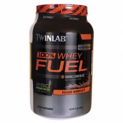 100 Whey Fuel Double Chocolate, 2 lbs Pwdr