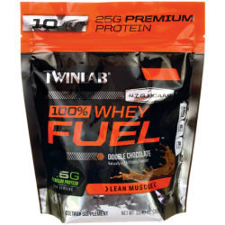 100 Whey Fuel Double Chocolate, 13.40 oz (380 grams) Pwdr