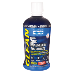 Liquid Zinc Magnesium Aspartate  Natural Berry, 30 fl oz (887 mL) Liquid