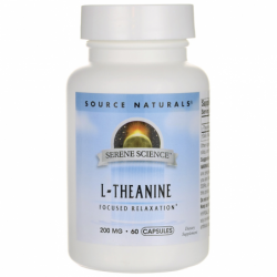 Serene Science LTheanine, 200 mg 60 Caps