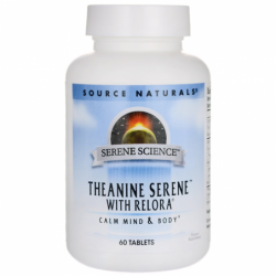Serene Science Theanine Serene with Relora, 60 Tabs