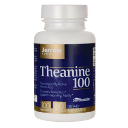 Theanine, 100 mg 60 Caps