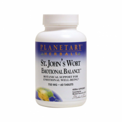St Johns Wort Emotional Balance, 750 mg 60 Tabs