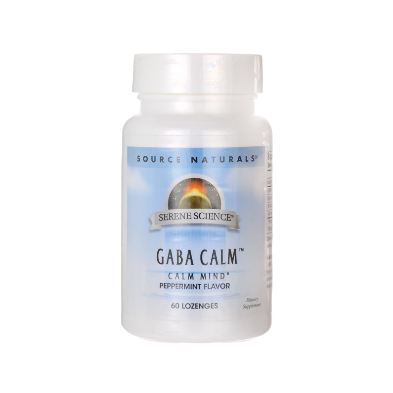 Serene Science GABA Calm  Peppermint, 60 Lozenges