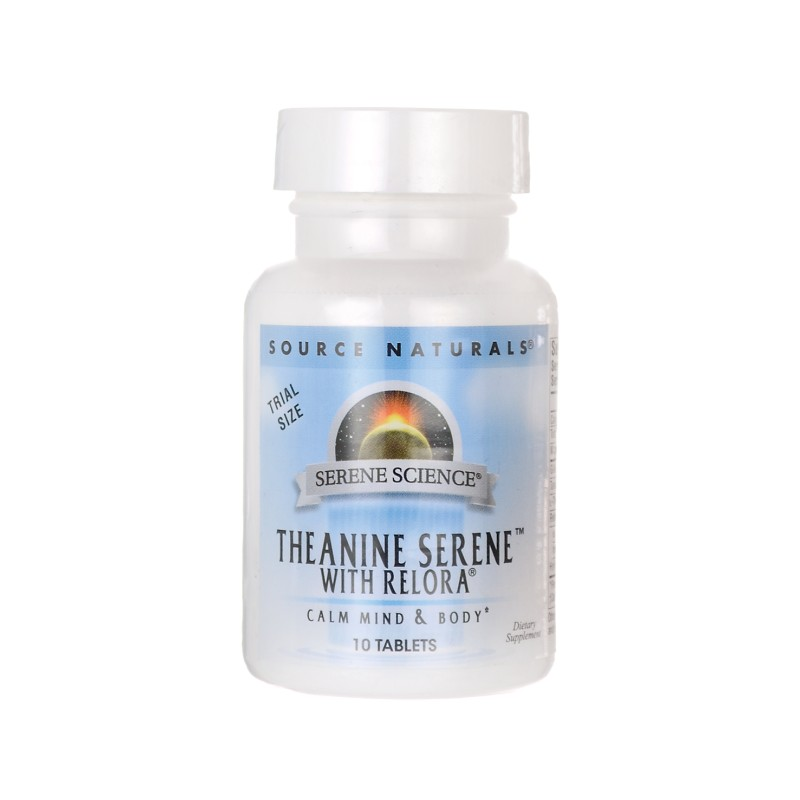 Serene Science Theanine Serene with Relora, 10 Tabs