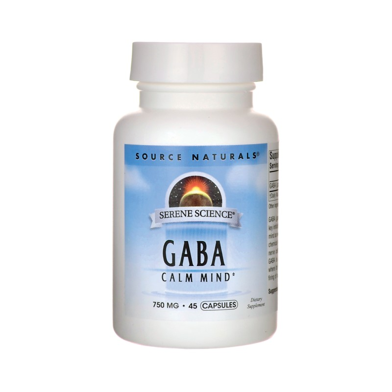 Serene Science Gaba Calm Mind, 750 mg 45 Caps