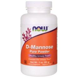 DMannose Pure Powder, 3 oz (85 grams) Pwdr