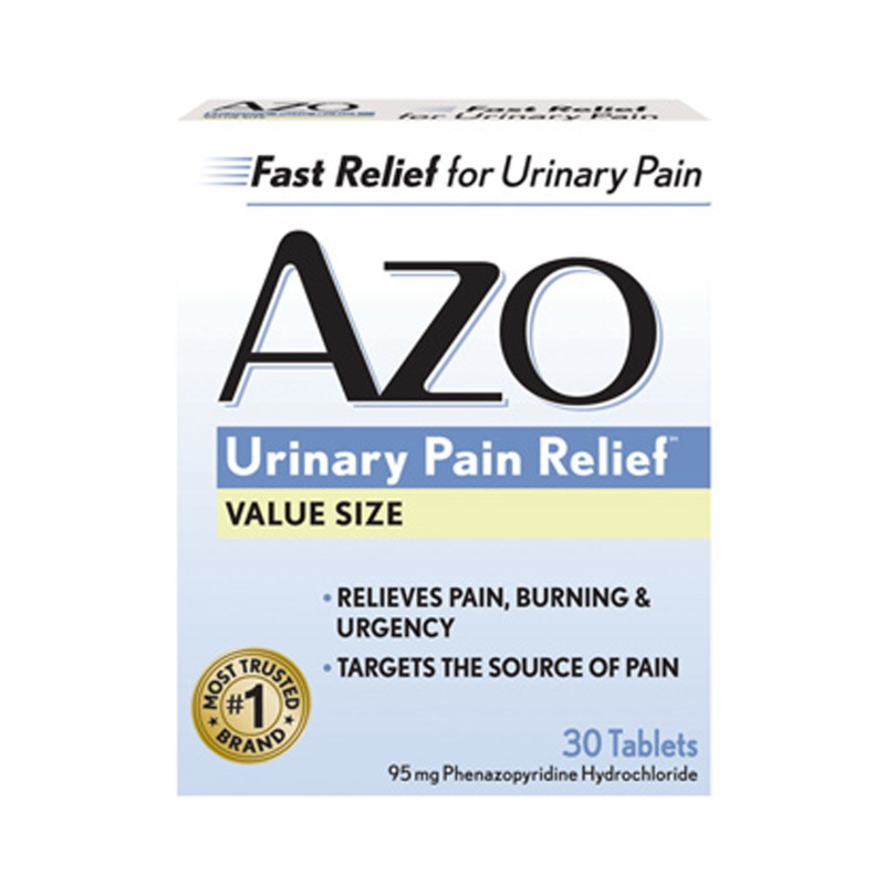 AZO Standard Urinary Pain Relief, 30 Tabs