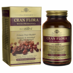 Cran Flora with Probiotics, 60 Veg Caps