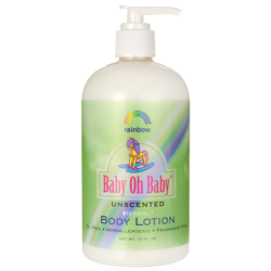 Baby, Oh, Baby Body Lotion Unscented, 16 fl oz Lotion
