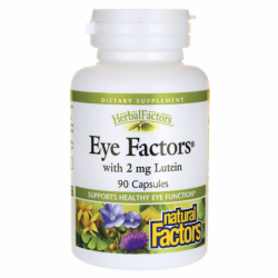 Eye Factors with Lutein, 2 mg 90 Caps