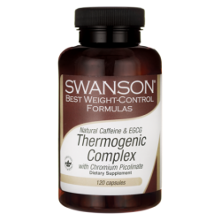 Natural Caffeine & EGCG Thermogenic Complex, 120 Caps