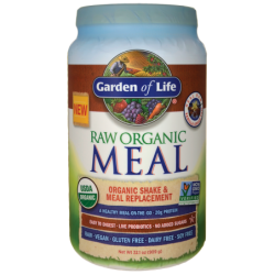Raw Organic Meal Shake & Meal Replacement  Vanilla Spiced Chai, 32.1 oz (909 grams) Pwdr