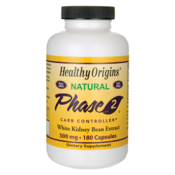 Phase 2 White Kidney Bean Extract, 500 mg 180 Caps