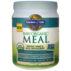 Raw Organic Meal Shake & Meal Replacement, 16 oz (454 grams) Pwdr