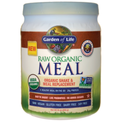 Raw Organic Meal Shake & Replacement  Vanilla Spiced Chai, 16 oz (455 grams) Pwdr