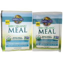 Raw Organic Meal Shake & Meal Replacement, 10 Pkts