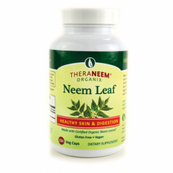 TheraNeem Organix Neem Leaf Healthy Skin & Digestion, 120 Veg Caps